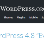 WordPress 4.8 Evans. Что нового?